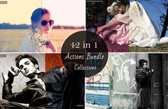 Sale 50 OFF   42 in 1 Premium Photoshop Actions Bundle by Symufa, $10.00