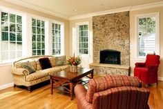 Case Design/Remodeling, Inc. - traditional - living room - dc metro - Case Design/Remodeling, Inc. Mom and Dad