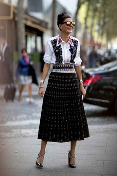 The Best Street Style Looks From Paris Fashion Week - Fashionista