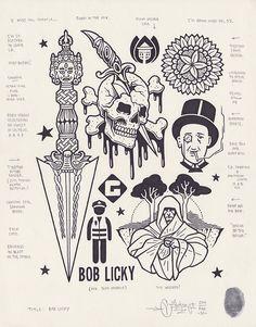 """""""Bob Licky"""", 2014."""