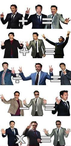 Finger Math With Robert Downey Jr.