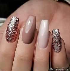 A manicure is a cosmetic elegance therapy for the finger nails and hands. A manicure could deal with just the hands, just the nails, or Cute Acrylic Nails, Matte Nails, Polish Nails, Stiletto Nails, Autumn Nails Acrylic, Fall Gel Nails, Spring Nails, Nails For Autumn, Acrylic Nail Designs Glitter
