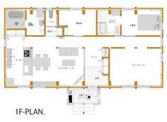子育てから老後にも対応。将来設計の平屋建てシンプルな家|間取りプラン