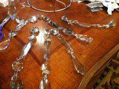 Crystal Chandelier DIY