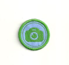 """2"""" Photography Merit Badge! Any Color Combo! Custom Made!"""