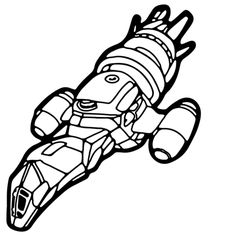 Firefly - Serenity Ship Venal Decal