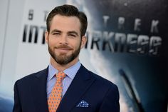 Chris Pine at the Star Trek Into Darkness L.A. Premiere