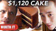 $27 Cake Vs. $1,120 Cake - YouTube