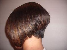 Summer Haircuts, Cool Haircuts, Bob Hairstyles, Stacked Angled Bob, Stacked Bobs, Shaved Nape, Corte Bob, Short Hair Styles, Shampoo