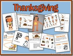 free thanksgiving preschool printables