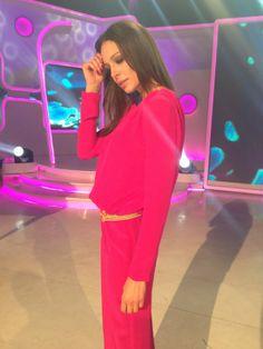 Eva González con un look de Colour Nude , en su blog 'Las Tentaciones de Eva'