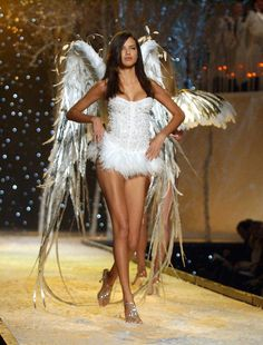 Pin for Later: 16 Years Later, and Adriana Lima Is Still One Seriously Sexy VS Angel 2001