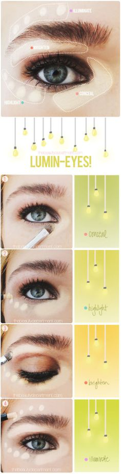Perfect Bright Eyes - visit http://beauty-training.co.uk now for the UK's leading beauty courses