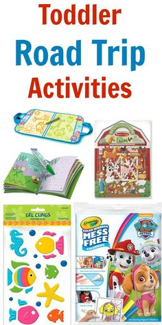 Toddler road trip activities / Keep Kids Busy / Traveling with a Toddler