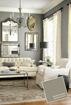 South Shore Decorating Blog: What I Love Wednesday #1 paint color and ceiling