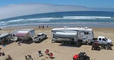Oceano Dunes Camping - you can drive right on the beach (Grover Beach) Best Places To Camp, Camping Places, Camping Spots, Camping Gear, Camping Trailers, Camping Chairs, Tent Camping, Camping Guide, Outdoor Camping