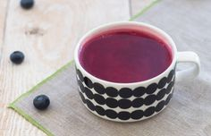 Mustikkakeitto or Finnish Blueberry soup - FoodeMag dxb