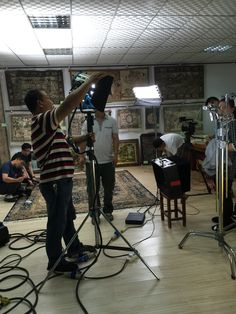 The video team of CCTV  is taking video in Yilong's showroom.  alice@yilongcarpet.com Whatsapp&viber: 0086 1563 8927 921 www.yilongcarpet.com www.yilongcarpet.myshopify.com