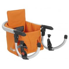 Joovy - Hook Booster Seat - Orange Leatherette