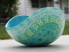 inifinte - belly casted pregnancy bowl by crystal driedger