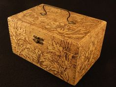 wooden boxes pyrography - Google Search