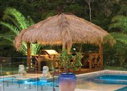 The cool, shady and relaxing #African gazebo is now designed with an instant tropical look to your backyard. The different structure can be made in different materials for your pool, #garden or as an extension for your home.