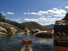 I hate toe pics too, but you have to admit this view rocks! Idaho baby!