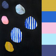 Color Palettes: Abstract Paintings by Beth Hoeckel - Design Milk