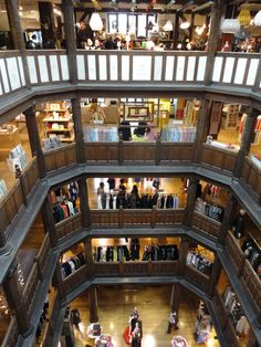 The 5 Floors of Liberty's