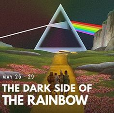 Starting tonight @ 11:00pm-- join the @thelogantheatre for The Dark Side of The Rainbow experience!   The coincidental pairing between Victor Flemings The Wizard of Oz with Pink Floyds album The Dark Side of the Moon as soundtrack for the movie combining some of the images with the lyrics and the sound effects used in most of the tracks is an unique experience and a magical project that takes both medias into a whole new level.