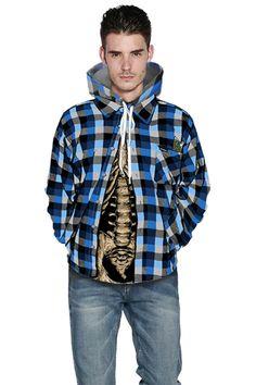 Grey hoodie with Plaid printed 3D sweater hoodie – menlivestyle Printed Hoodies, Hooded Sweater, Grey Hoodie, Cargo Pants, Christmas Sweaters, Raincoat, Winter Jackets, Plaid, 3d