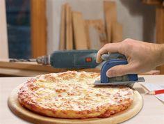 30 Fun kithcen gadgets - Pizza Boss Pizza Wheel - Click Pic for 30 best kitchen gadgets Boss Pizza, Cool Kitchen Gadgets, Cool Kitchens, Fun Gadgets, Pizza Wheel, Circular Saw, Kitchen Gifts, Kitchen Stuff, Kitchen