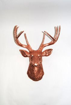 White Faux Taxidermy Faux Deer Mount The by WhiteFauxTaxidermy, $94.99