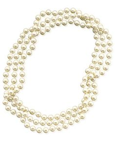 Gucci Glass pearl necklace with bee 5itqKw