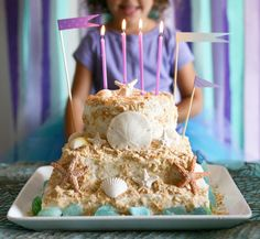 Sand Castle Cake Decorating Set evrything por andiespecialtysweets