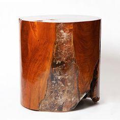 Adrianna shamaris cracked resin side tables http://www.charleyworks.com/resin-wood-furniture/