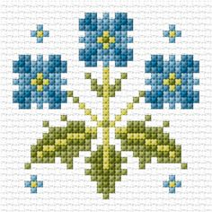 Brilliant Cross Stitch Embroidery Tips Ideas. Mesmerizing Cross Stitch Embroidery Tips Ideas. Tiny Cross Stitch, Cross Stitch Borders, Cross Stitch Flowers, Cross Stitch Designs, Cross Stitching, Cross Stitch Embroidery, Embroidery Patterns, Cross Stitch Patterns, Flower Embroidery