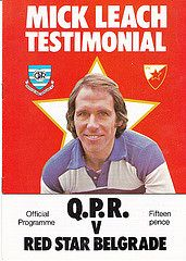 I was there...1976? Soccer Cards, Baseball Cards, Queens Park Rangers Fc, Red Star Belgrade, International Soccer, Football Program, Sports, Hs Sports, Football Cards