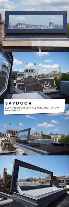 Skydoor is our most popular hinged access rooflight and is designed for day to day access to your roof space, ideal for terrace areas on flat roofs.