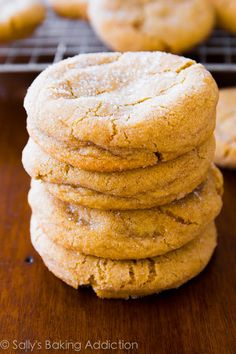 Chewy Brown Sugar Cookies.