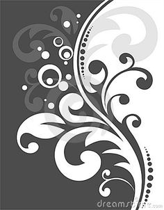 Black-and-white pattern by Tatyana Okhitina, via Dreamstime
