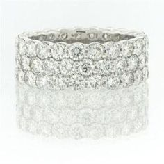 5.00ct Round Brilliant Cut Diamond Eternity Band List Price $9,975.00 Your Price $5,995.00