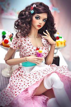 Vintage rag dolls pin up https:pwxEpmE Pin up Pin up photo series for russian BJD-Combat May 2015 Iplehouse Mari - Milagros Garcia Beautiful Barbie Dolls, Pretty Dolls, Enchanted Doll, Pin Up Photos, Anime Dolls, Little Doll, Doll Repaint, Custom Dolls, Ooak Dolls