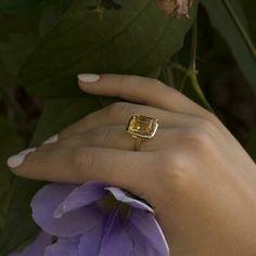 """UK """"ad:"""" Baguette Shape Aquamarine Engagement Wedding Elegant Ring 14K Yellow Gold Plated Category: Gemstone Location: United... -"""