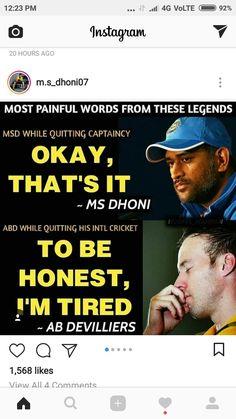 😶😖😢😭😭😭😭😭😭 India Cricket Team, World Cricket, Cricket Sport, Sachin Tendulkar Quotes, Crickets Meme, Happy Alone Quotes, Dhoni Quotes, Ms Dhoni Wallpapers, Ms Dhoni Photos