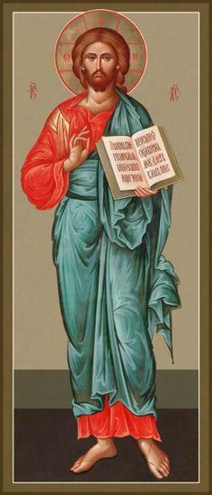 Christ, New Jordanville style by Hieromonk Andrei (Erastov)