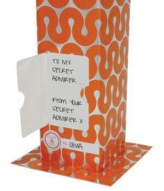 """Card & Vase """"Wave"""" CNV003D"""