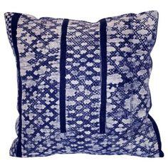 Check out this item at One Kings Lane! Thai Indigo Pillow