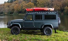 When it comes to badass and stylish vintage SUVs, you won't find much better than an old school Land Rover Defender that's been restored with modern functionality in mind. There are a handful of companies that are up to the task if you're in the market for one of these