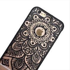 Black Lace Dream Weaver Phone Case